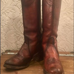 fa1b6d65d36 Tall Miss Capezio Cowgirl Campus Riding Boots 9N